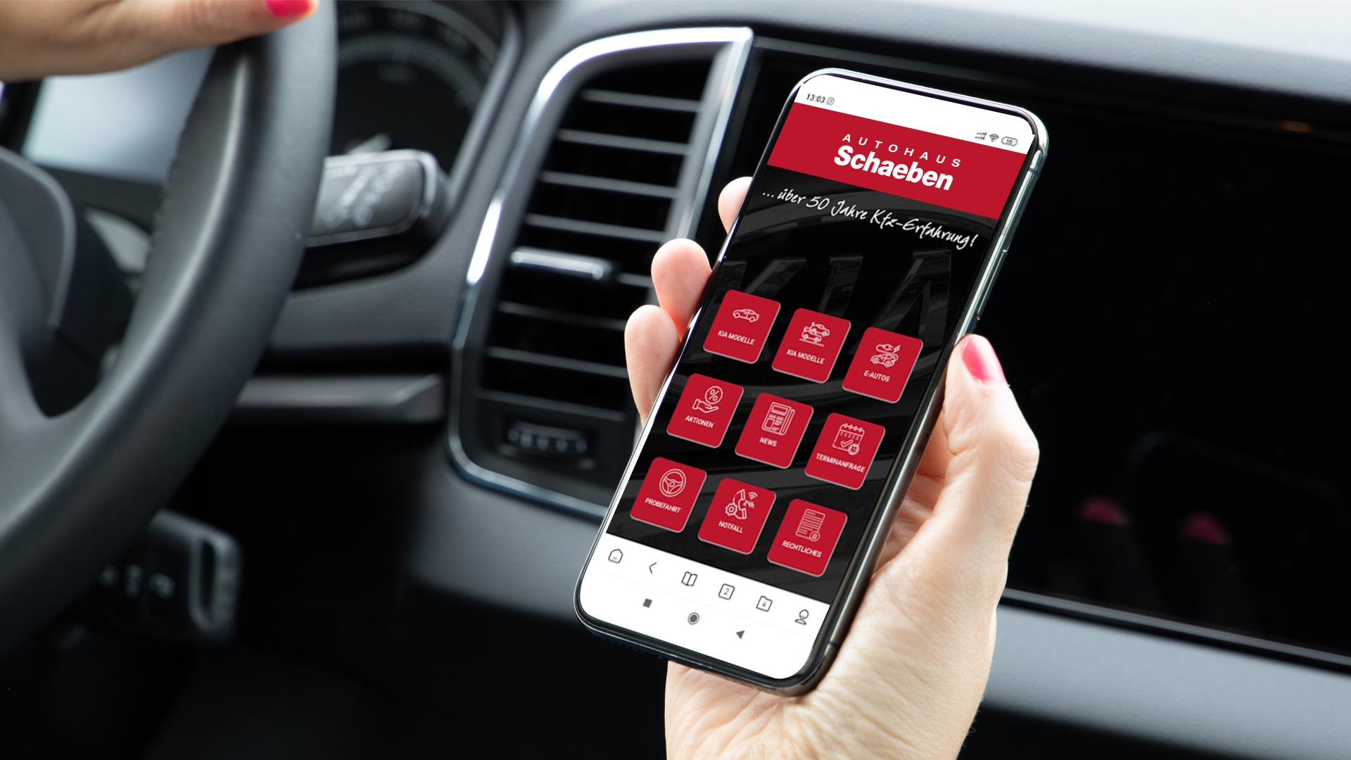 Die Autohaus Schaeben App